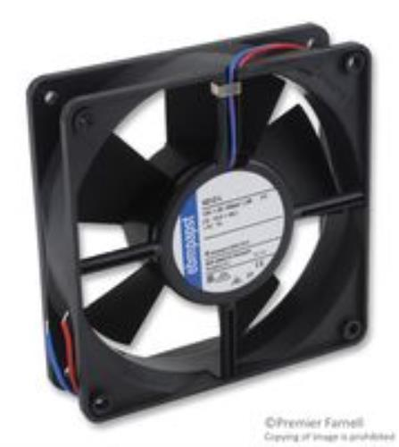Brand New No. 02M0245 Ebm Papst 4312L Axial Fan, 119Mm, 12Vdc