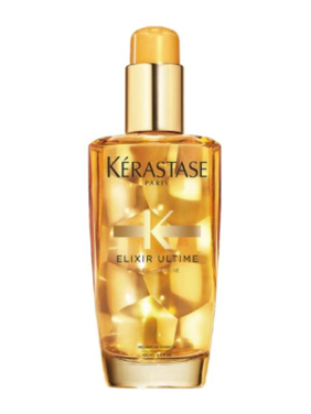 ($50 Value) Kerastase Elixir Ultime Oleo-Complexe Volume Beautifying Hair Oil, 3.4 Oz