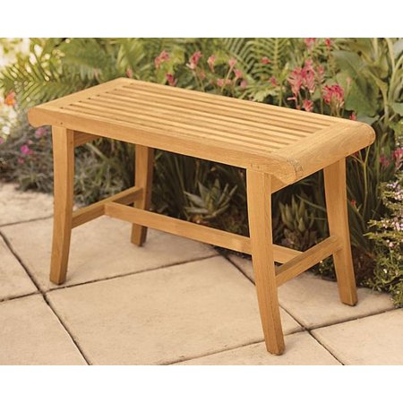 WholesaleTeak Outdoor Patio Grade-A Teak Wood Bath Stool ...