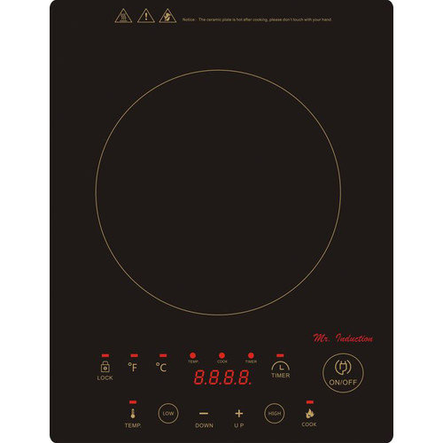 Sunpentown 11.63'' Electric Induction Cooktop with 1 Burner