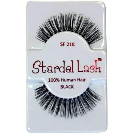 Stardel Lash 100% humains Lashes Cheveux - SF 218 Noir - - image 2 de 2