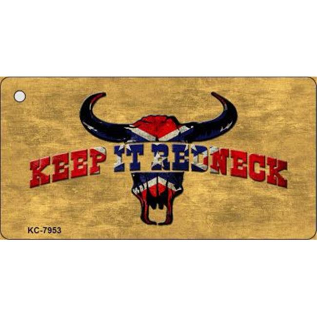 Smart Blonde KC-7953 Keep It Redneck Novelty Key Chain