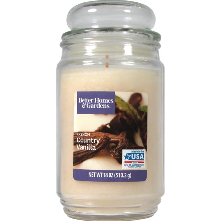 Better Homes & Gardens French Country Vanilla Single-Wick 18 oz. Jar Candle