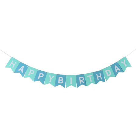 Paper Letter Design Birthday Ornament Photo Photography Prop Banner Bunting
