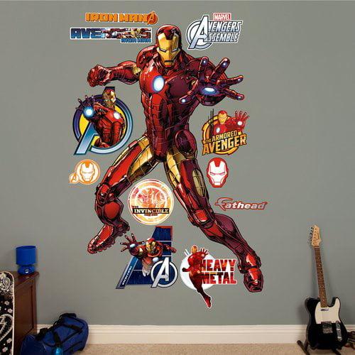 Fathead Iron Man Avengers Assemble