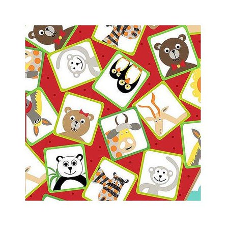 On the Road Zoo Animal Patches - Cotton Fabric Quilting Treasures