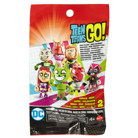 Teen Titans Go! Mini Figure Blind Bag (Styles May Vary) - Angry Birds Blind Bags