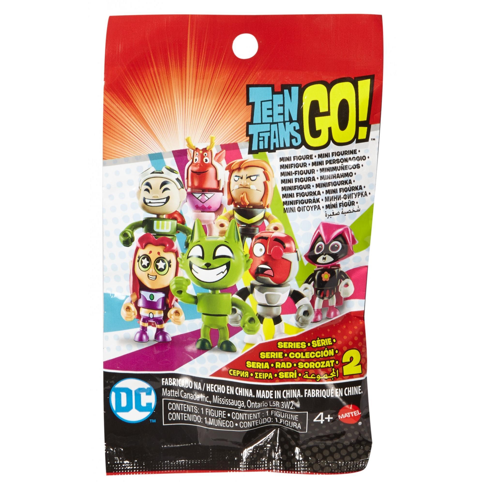 Teen Titans Go! Mini Figure Blind Bag (Styles May Vary)