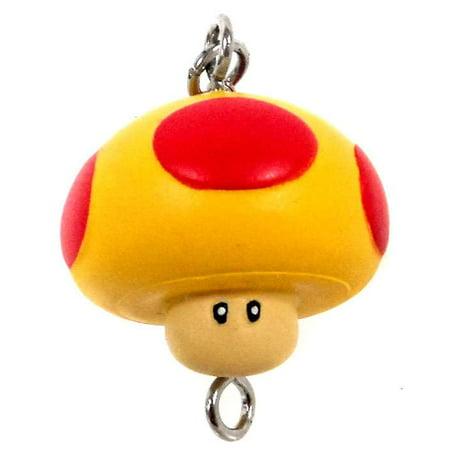 Super Mario Mega Mushroom Phone Danglers Charm Keychain