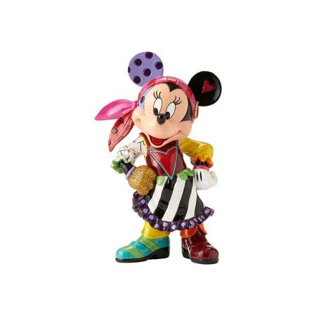 Disney Britto Minnie Mouse Pirate Figurine 4057043 New 2017 (Disney Halloween 2017 Map)