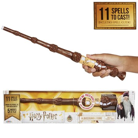 Dumbledore's The Elder Wand Interactive Wizard Training Wand