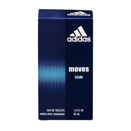 Adidas Moves Him Eau De Toilette Natural Spray, 1.0 FL OZ