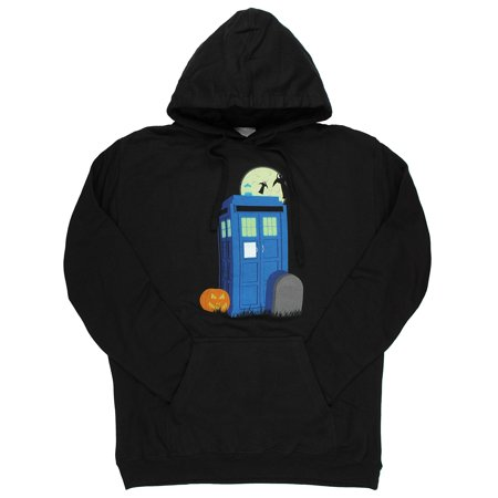 Doctor Who Halloween TARDIS Adult Hoodie