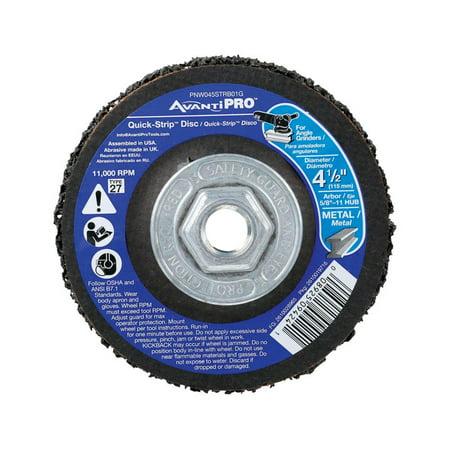 Avanti Pro Quick-Strip 4-1/2 in. Dia. x 5/8 in. Silicon-Carbide Grinding Disc
