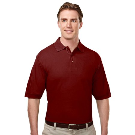 Tri Mountain Mens Big And Tall Pearl Button Golf Shirt