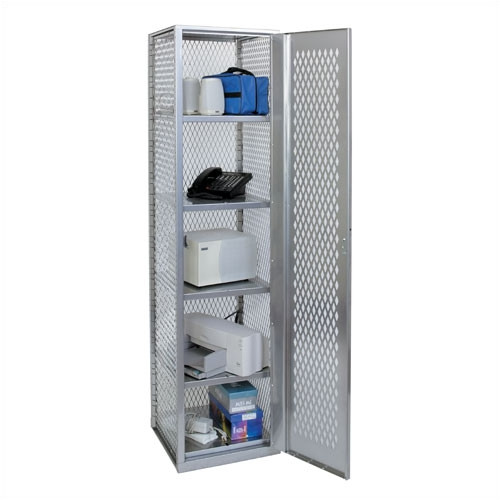 Hallowell Welded 5 Tier 1 Wide Storage Locker
