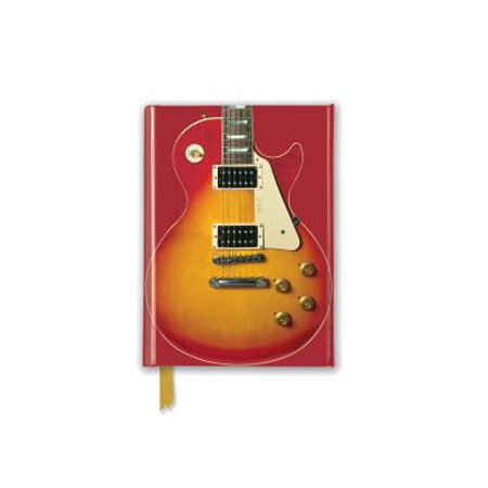 Gibson Les Paul Guitar, Sunburst Red (Foiled Pocket Journal)