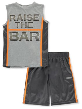 Hind Boys' Basketball 2-Piece Shorts Set Outfit (Little Boys)