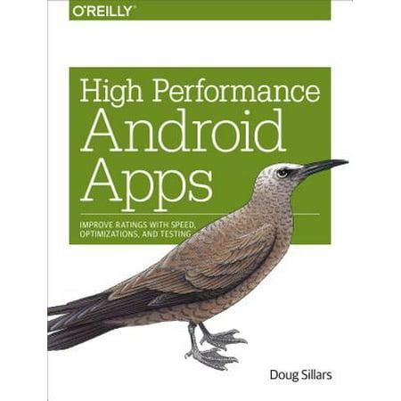 High Performance Android Apps - eBook (High School Sim App)