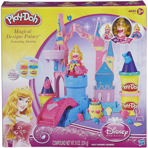 Play-Doh Mix 'N Match Magical Designs Palace Set with Disney Princess Aurora