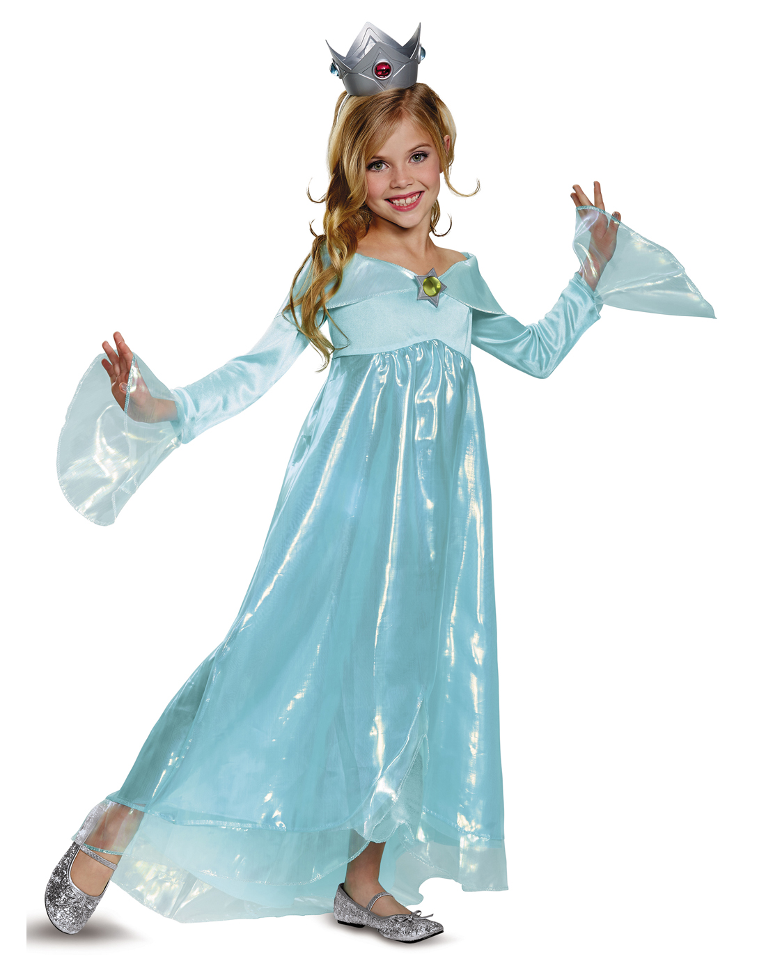 Nintendo Super Mario Bros Princess Rosalina Girls Deluxe Costume  sc 1 st  Walmart : bowser adult costume  - Germanpascual.Com