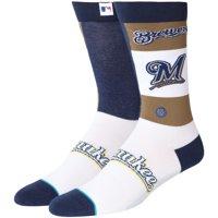 Milwaukee Brewers Stance Pop Fly Crew Socks