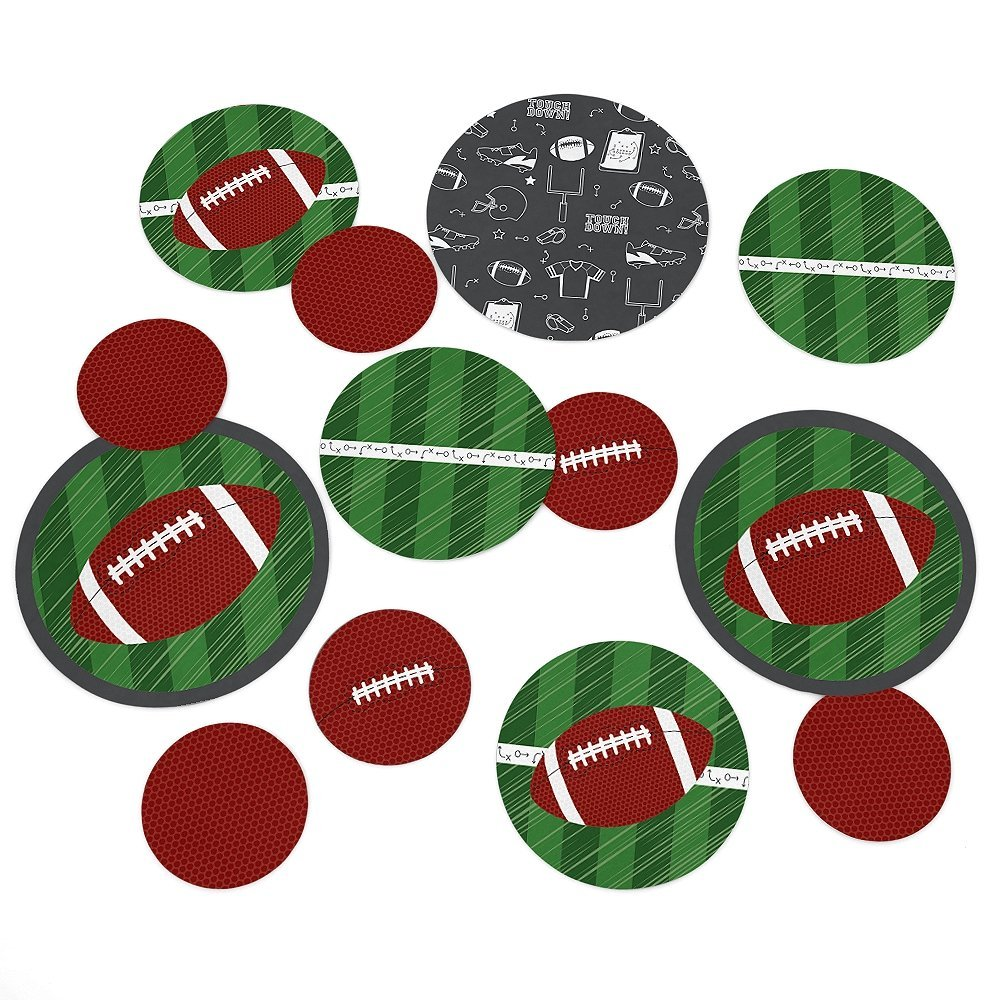 End Zone - Football Party Table Confetti Set - 27 Count