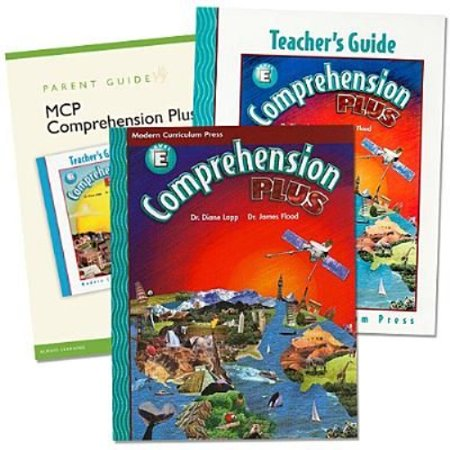 Comprehension Plus Homeschool Bundle  Level E  With Booklet And Teachers Guide