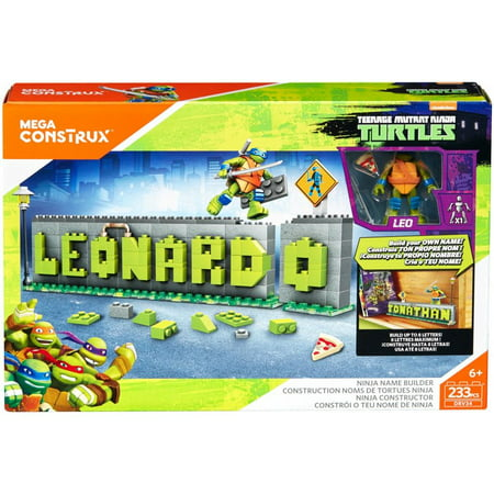Mega Construx Teenage Mutant Ninja Turtles Ninja Name Builder for $<!---->