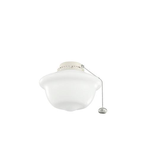 Kichler One Light School House Ceiling Fan Light Kit