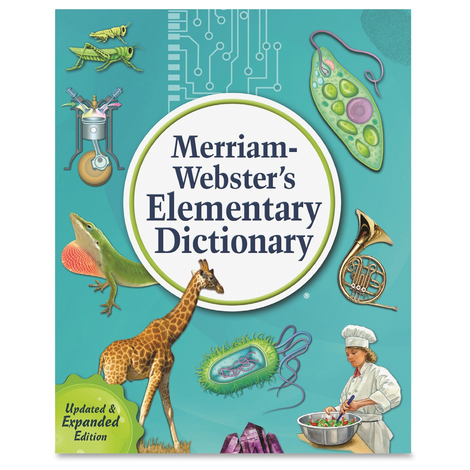 Merriam-webster Elementary Dictionary Dictionary Printed Book - English - Hardcover - 624 Pages (676-3)