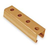 Strut Channel, 1-1/2 W, 20 ft. L, Gold KINDORF
