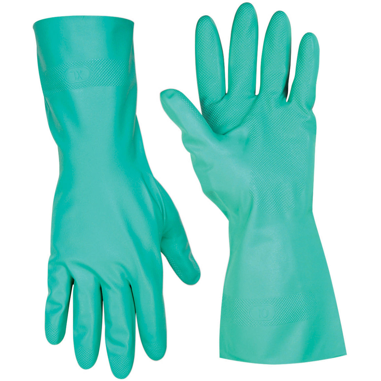 CLC Work Gear 2305S Small Green Nitrile Glove