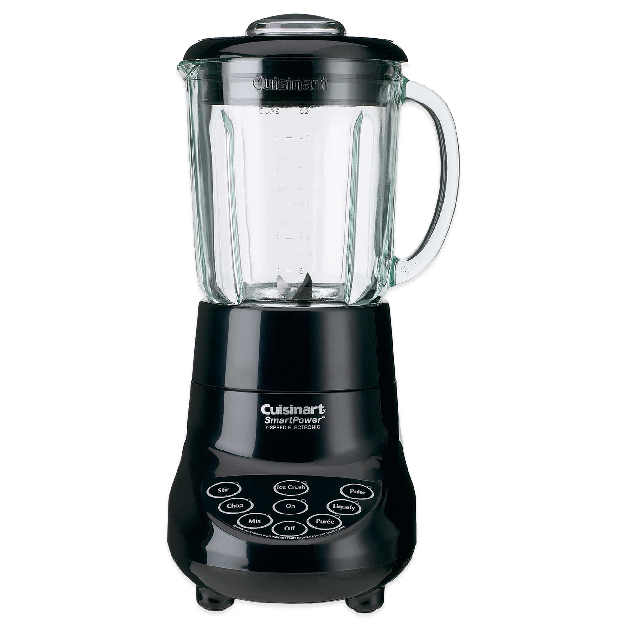 Cuisinart SPB-7 SmartPower 7-Speed Bar Blender, Black (Certified Refurbished)