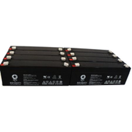 Sps Brand 12V 2 3 Ah Replacement Battery  For Invivo Research Inc  4500 Mri  8 Pack