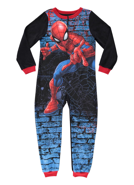 Marvel Spiderman Little Boy Footed Sleeper Pajama Size 5T