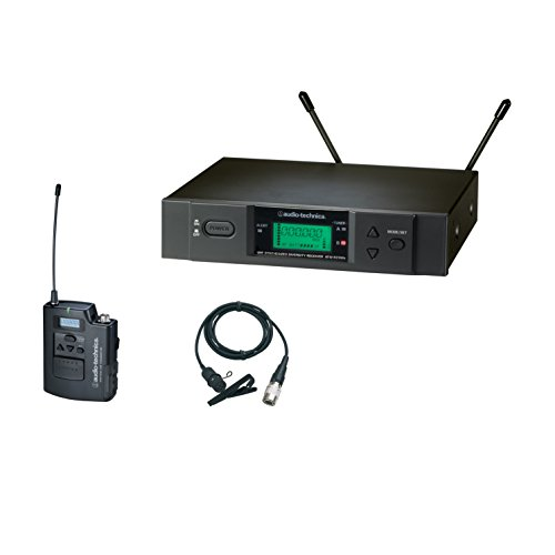 Audio-Technica ATW-3131BI 3000 Series Wireless Lavalier System by Audio-Technica