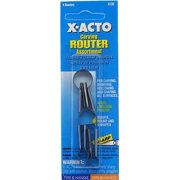 X-Acto 135 Router assortment carded