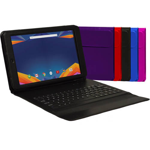 "Visual Land 10.1"" IPS Octa Core Tablet 32GB Dual Speakers includes Keyboard Case"