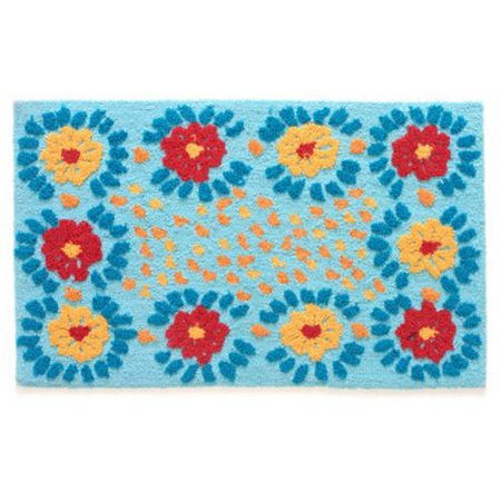 Pioneer Woman Daisy Chain Rug Bright Cheerful Colors Great