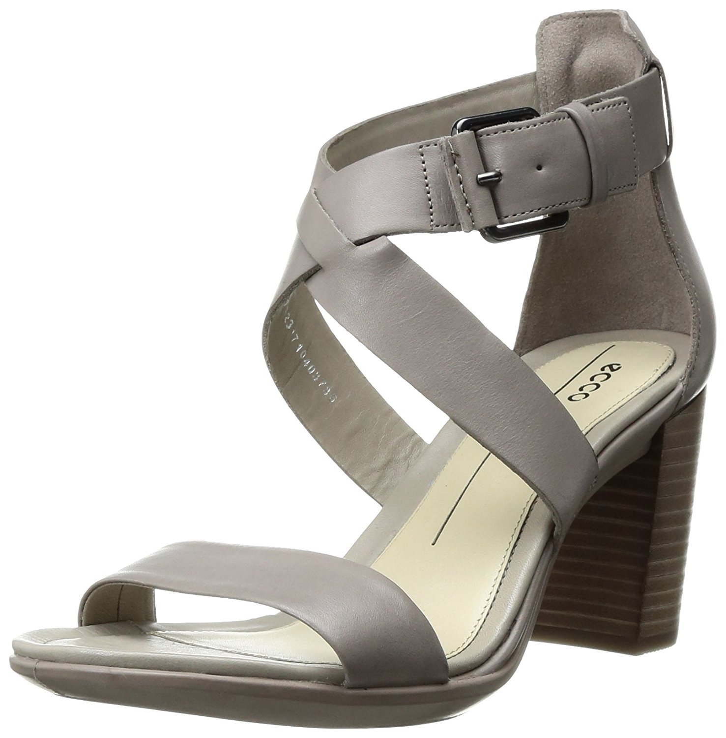 ECCO Womens Shape 65 Leather Open Toe Casual Strappy Sandals by Ecco