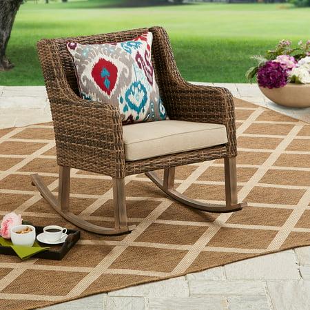 Better Homes & Gardens Hawthorne Park Outdoor Rocking Chair