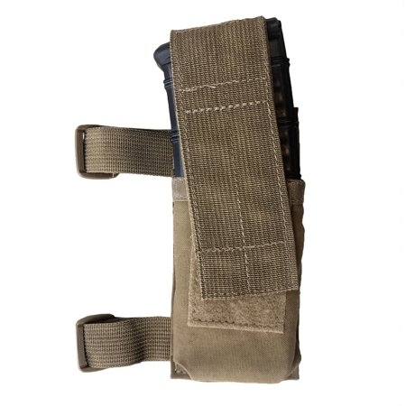 Tactical Tailor Stock Mag 500D Coyote Brown Pouch 2/Pack - MADE IN USA