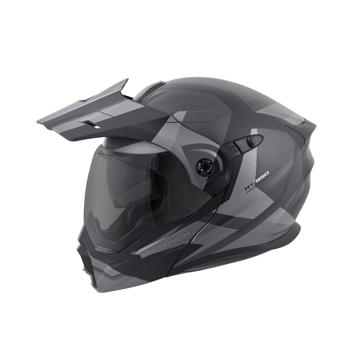 Scorpion EXO-AT950 Adventure Touring Modular Motorcycle Helmet with Sun Visor - Clear Face Shield