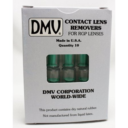 Classic Vented Contact Handler   Inserts And Removes Hard And Rgp Contact Lenses   Box Of 10  You Will Receive 10 Brand New Dmv Classic Lens Handlers  3 And 6 Packs    By Dmv