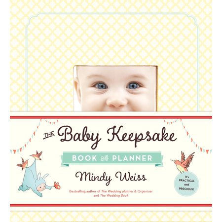 Baby Keepsake Book and Planner - Hardcover