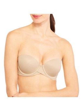 Sweet Nothings Womens Stay Put Strapless Push Up Underwire Bra, Style SN6990