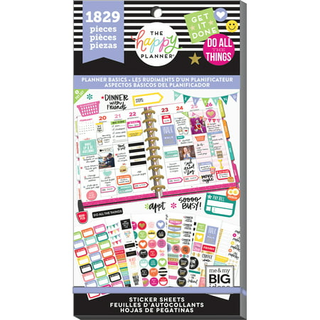 The Happy Planner Stickers Value Pack: 1829 Pack