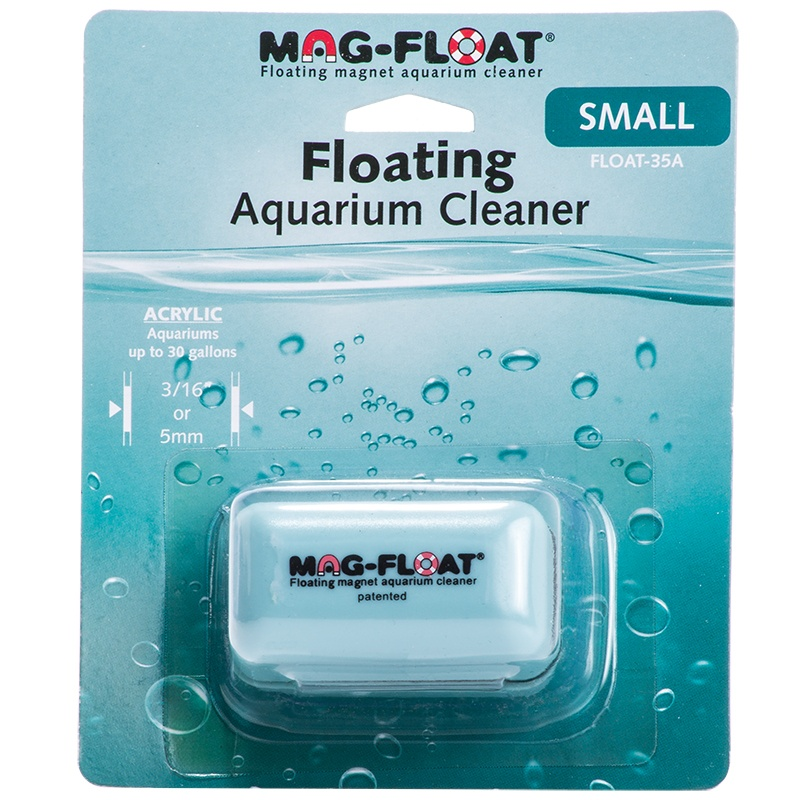 Mag Float Floating Aquarium Cleaner Acrylic Aquariums Small (30 Gallon) by Brand New