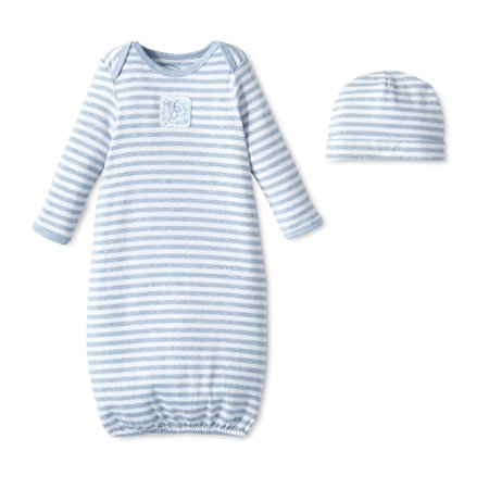 Lamaze Cotton Gown, 2pk (Baby Boys)